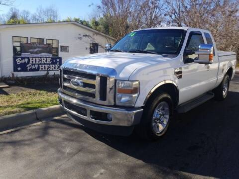 2008 Ford F-250 Super Duty for sale at TR MOTORS in Gastonia NC
