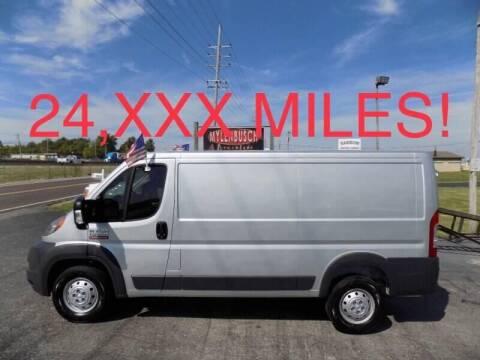 2018 RAM ProMaster Cargo for sale at MYLENBUSCH AUTO SOURCE in O'Fallon MO