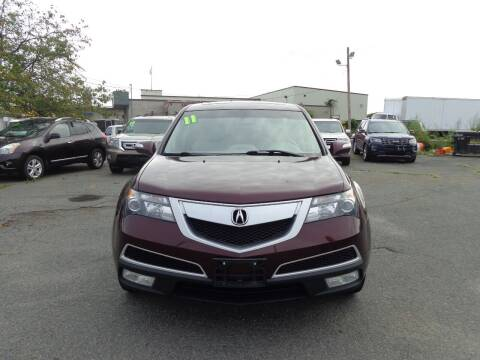 2011 Acura MDX for sale at Merrimack Motors in Lawrence MA