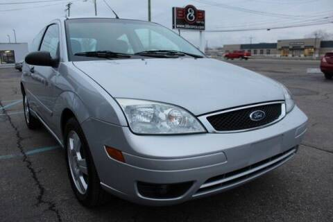 2007 Ford Focus for sale at B & B Car Co Inc. in Clinton Twp MI