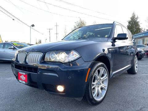 2008 BMW X3 for sale at Real Deal Cars in Everett WA