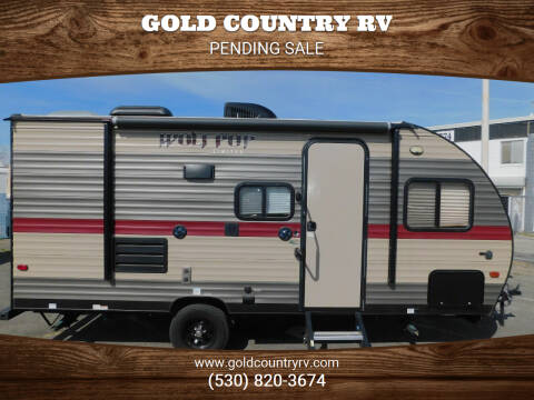 2018 Forest River WOLF PUP 16BHS for sale at Gold Country RV in Auburn CA