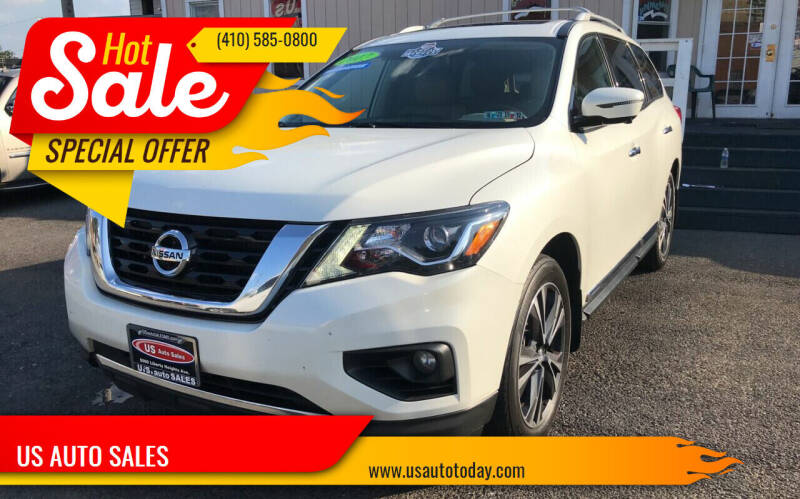 2017 Nissan Pathfinder for sale at US AUTO SALES in Baltimore MD