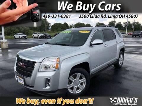 2014 GMC Terrain for sale at White's Honda Toyota of Lima in Lima OH
