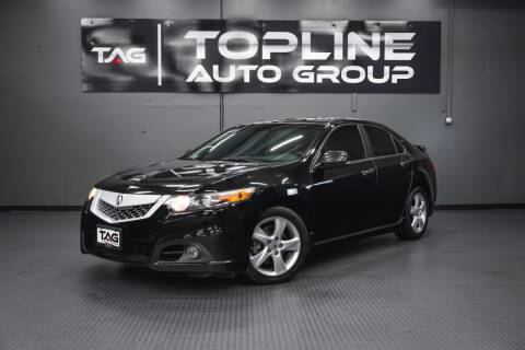 2009 Acura TSX for sale at TOPLINE AUTO GROUP in Kent WA