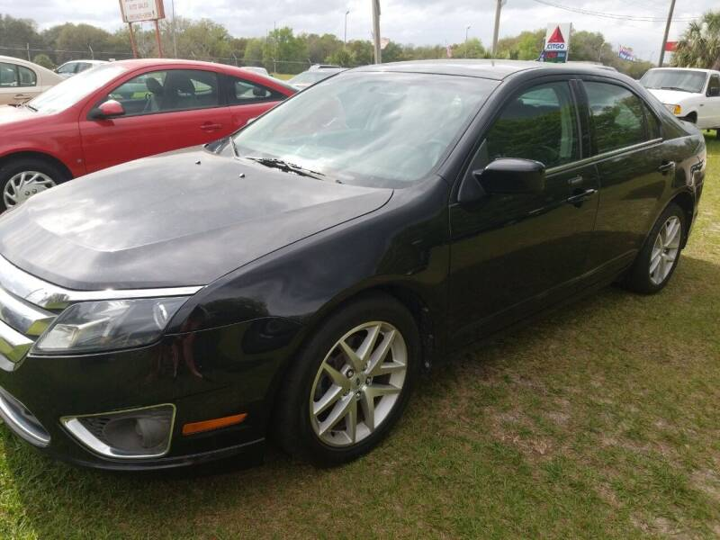 2010 Ford Fusion for sale at Massey Auto Sales in Mulberry FL