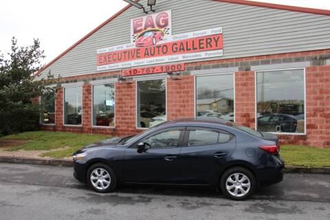 2017 Mazda MAZDA3 for sale at EXECUTIVE AUTO GALLERY INC in Walnutport PA