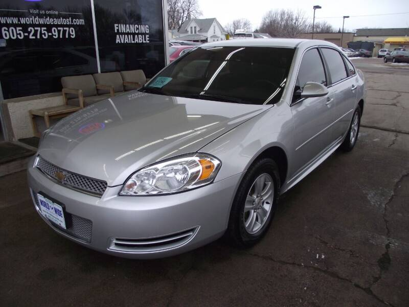 2016 Chevrolet Impala Limited for sale at World Wide Automotive in Sioux Falls SD