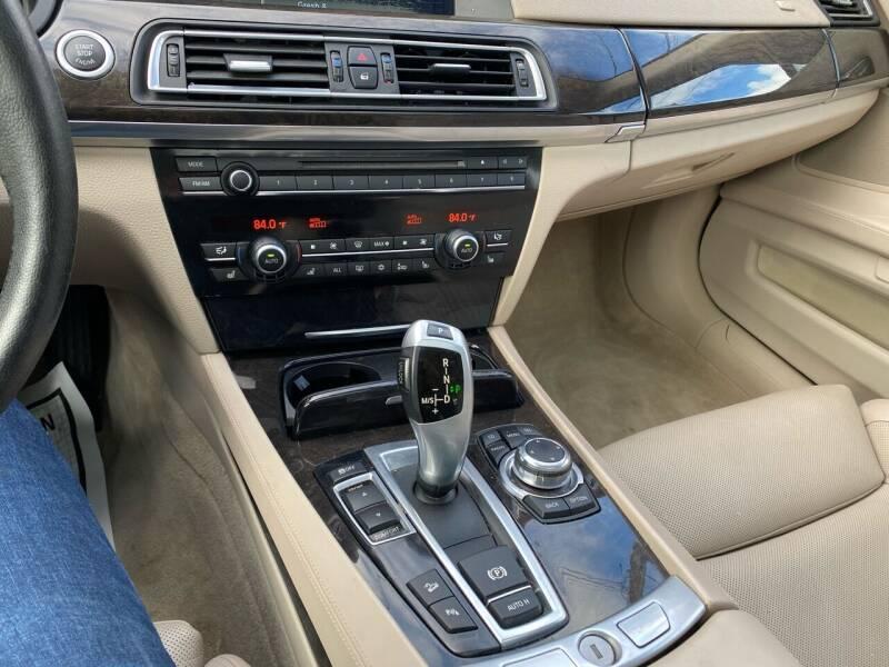2011 BMW 7 Series AWD 750Li xDrive 4dr Sedan - Warwick RI