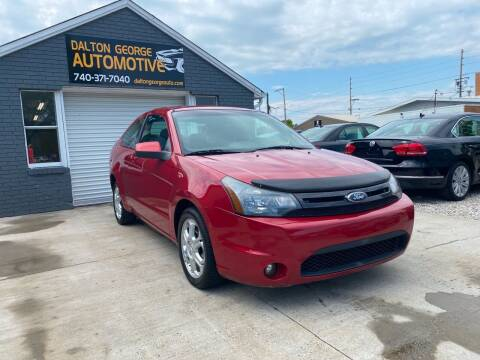 2009 Ford Focus for sale at Dalton George Automotive in Marietta OH
