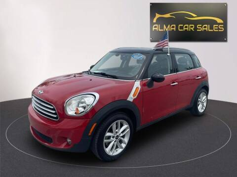 2014 MINI Countryman for sale at Alma Car Sales in Miami FL