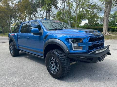 2019 Ford SHELBY BAJA RAPTOR 525HP for sale at DELRAY AUTO MALL in Delray Beach FL