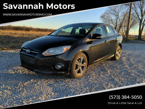 2014 Ford Focus for sale at Savannah Motors in Elsberry MO