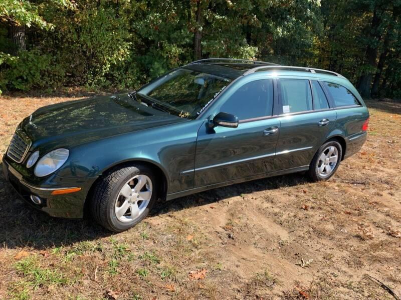 2007 Mercedes-Benz E-Class for sale at SODA MOTORS AUTO SALES LLC in Newport RI