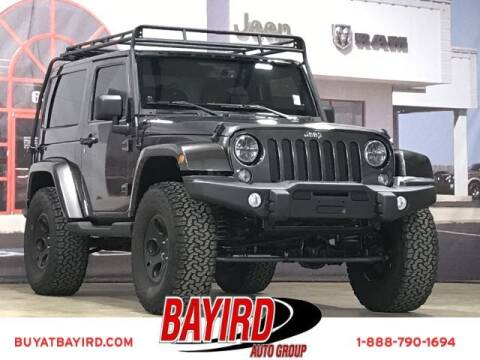 2014 Jeep Wrangler for sale at Bayird Truck Center in Paragould AR