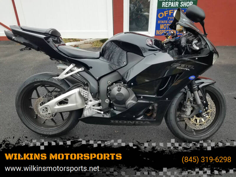 2015 Honda CBR600RR for sale at WILKINS MOTORSPORTS in Brewster NY