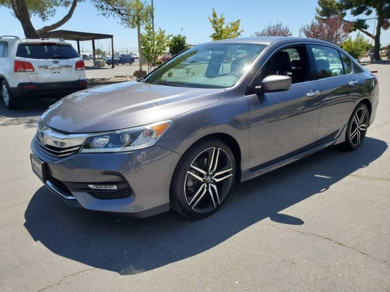 2017 Honda Accord for sale at Matador Motors in Sacramento CA