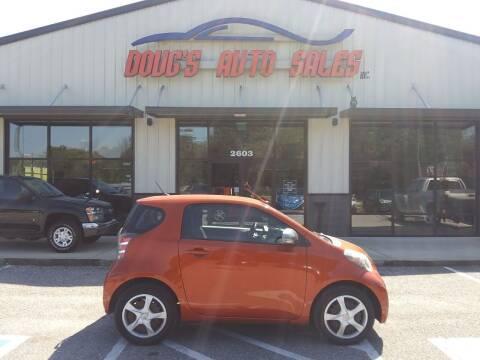 2012 Scion iQ for sale at DOUG'S AUTO SALES INC in Pleasant View TN