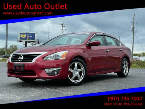 2015 Nissan Altima for sale at Used Auto Outlet in Orlando FL