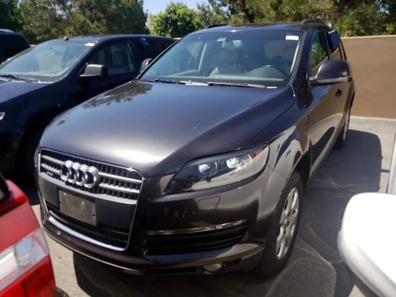 2007 Audi Q7 for sale at MCHENRY AUTO SALES in Modesto CA