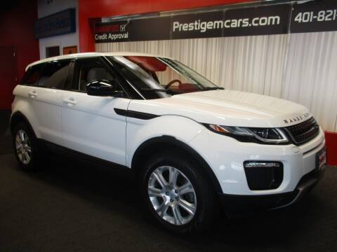 2017 Land Rover Range Rover Evoque for sale at Prestige Motorcars in Warwick RI