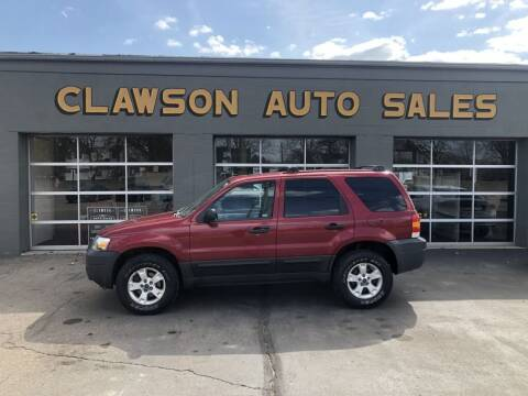 2006 Ford Escape for sale at Clawson Auto Sales in Clawson MI
