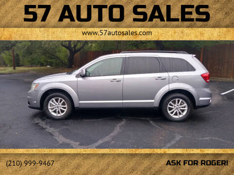 2015 Dodge Journey for sale at 57 Auto Sales in San Antonio TX