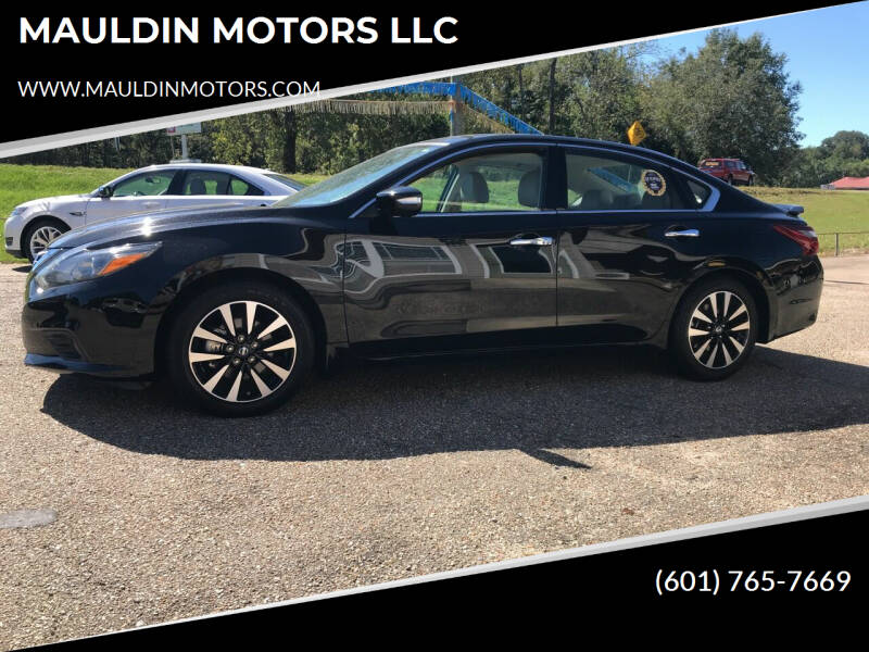 2018 Nissan Altima for sale at MAULDIN MOTORS LLC in Sumrall MS