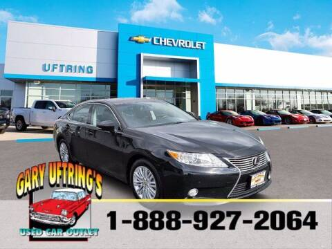 2013 Lexus ES 350 for sale at Gary Uftring's Used Car Outlet in Washington IL