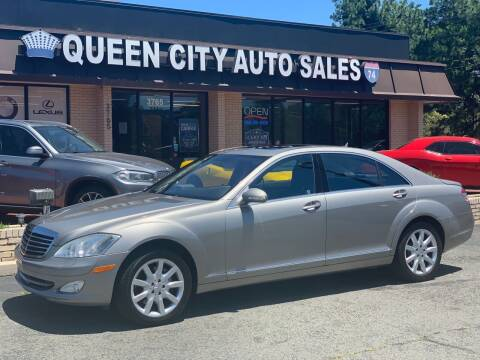 2007 Mercedes-Benz S-Class for sale at Queen City Auto Sales in Charlotte NC