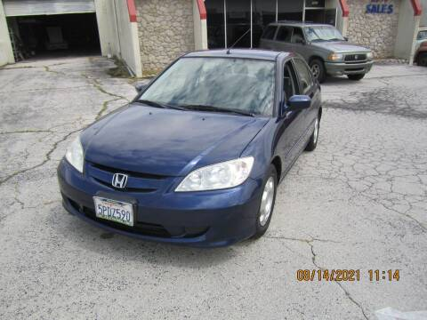 2005 Honda Civic for sale at Competition Auto Sales in Tulsa OK