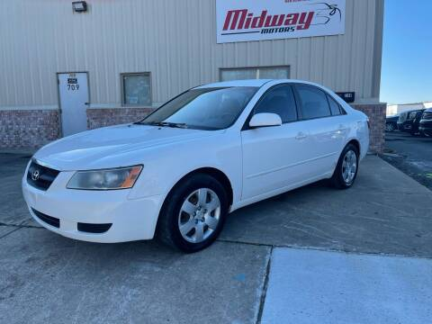 2006 Hyundai Sonata for sale at Midway Motors in Conway AR