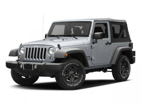 2016 Jeep Wrangler for sale at Crown Automotive of Lawrence Kansas in Lawrence KS