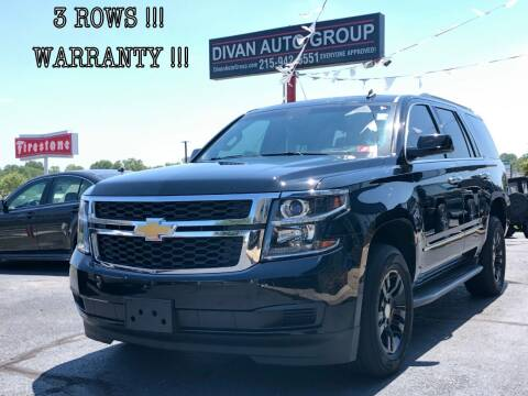 2015 Chevrolet Tahoe for sale at Divan Auto Group in Feasterville PA