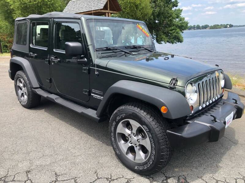 2010 Jeep Wrangler Unlimited for sale at Affordable Autos at the Lake in Denver NC