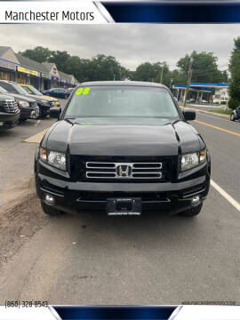 2008 Honda Ridgeline for sale at Manchester Motors in Manchester CT