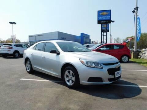 2016 Chevrolet Malibu Limited for sale at Radley Cadillac in Fredericksburg VA
