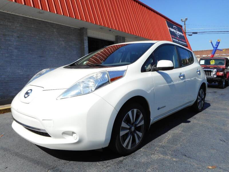 2015 Nissan LEAF for sale at Super Sports & Imports in Jonesville NC