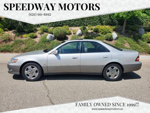 2001 Lexus ES 300 for sale at Speedway Motors in Glendora CA