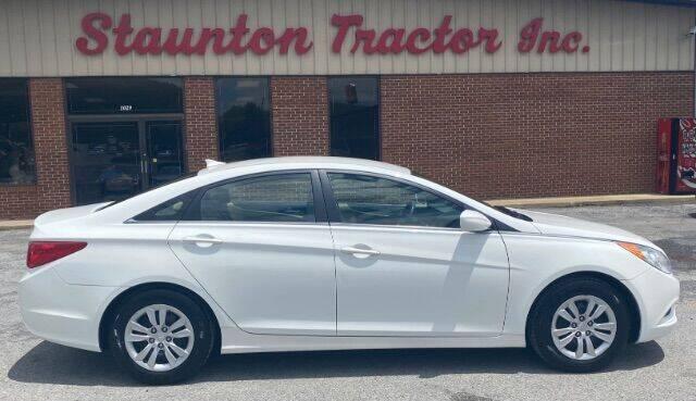 2012 Hyundai Sonata for sale at STAUNTON TRACTOR INC in Staunton VA