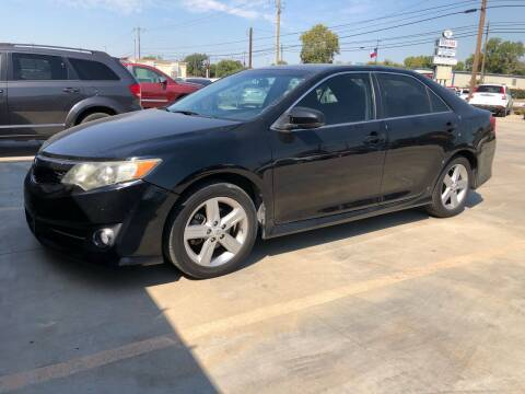 2012 Toyota Camry for sale at Texas Auto Broker in Killeen TX