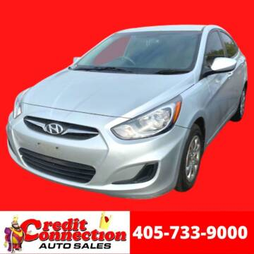 2013 Hyundai Accent for sale at Credit Connection Auto Sales in Midwest City OK