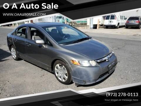 2007 Honda Civic for sale at O A Auto Sale in Paterson NJ