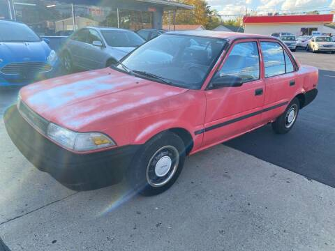 1990 Toyota Corolla for sale at Wise Investments Auto Sales in Sellersburg IN