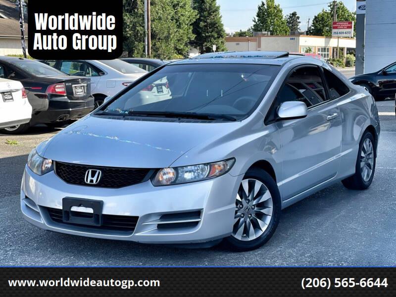 2009 Honda Civic for sale at Worldwide Auto Group in Auburn WA