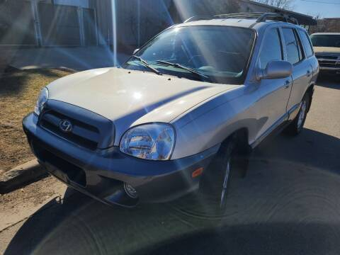 2005 Hyundai Santa Fe for sale at Steve's Auto Sales in Madison WI