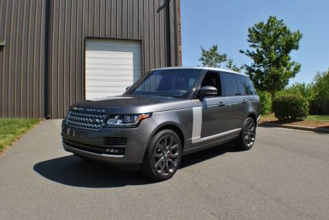 2016 Land Rover Range Rover for sale at Euro Prestige Imports llc. in Indian Trail NC