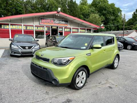 2015 Kia Soul for sale at Mira Auto Sales in Raleigh NC