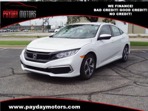 2020 Honda Civic for sale at Payday Motors in Wichita KS