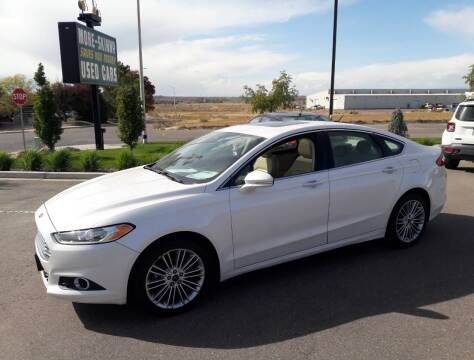 2013 Ford Fusion for sale at More-Skinny Used Cars in Pueblo CO